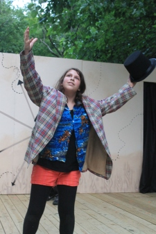 Babraham Lincoln | Summer Playwright's Festival 2014 | Open Space Arts